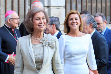 Queen Sofia Queen Sofia of Spain Attends 'Requiem' By Mozart at Toledo's Cathedral