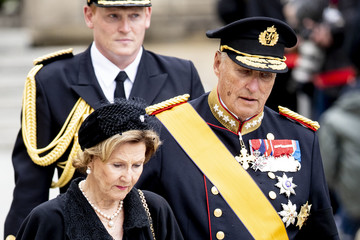 Queen Sonja Funeral Of Grand Duke Jean Of Luxembourg