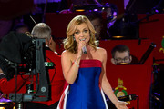 Katherine Jenkins Performs During Queen Elizabeth IIs 90th Birthday Celebrations At Home Park Windsor On