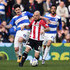 Alejandro Faurlin Photos - Alejandro Faurlin (L) of Queens Park Rangers and Alan McCormack of Brentford contest the ball during the Sky Bet Championship match between Queens Park Rangers and Brentford at Loftus Road on March 12, 2016 in London, England. - Queens Park Rangers v Brentford - Sky Bet Championship