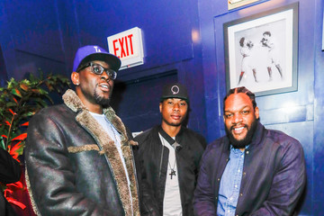Quentin Richardson Darius Miles The Players' Tribune + Heir Jordan Host Players' Night Out At The Royale Party At Bounce Sporting Club In Chicago