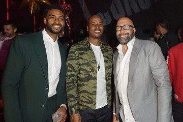 Quentin Richardson LYFE Brand Celebrates Dwyane Wade Jersey Retirement At HYDE AmericanAirlines Arena