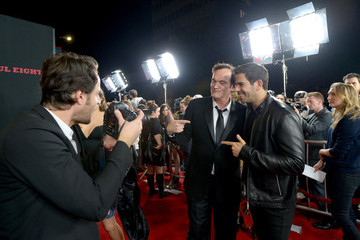 Quentin Tarantino Eli Roth The Weinstein Company Presents the World Premiere of 'The Hateful Eight' - Red Carpet