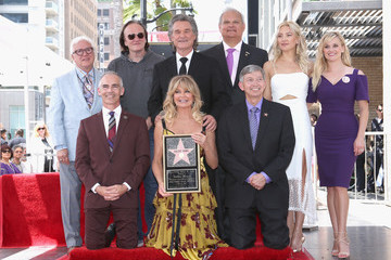 Quentin Tarantino Goldie Hawn and Kurt Russell Are Honored With Stars on the Hollywood Walk of Fame