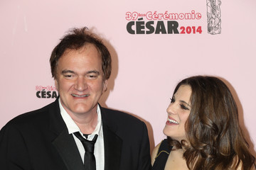 Quentin Tarantino Arrivals at the Cesar Film Awards — Part 2