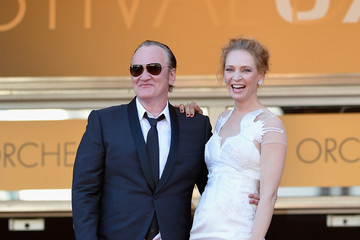 "Quentin Tarantino Closing Ceremony & ""A Fistful Of Dollars"" Screening - The 67th Annual Cannes Film Festival"