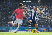 Sergio Garcia of RCD Espanyol duels for the ball with Marc Valiente of Real Valladolid CF during the La Liga match between RCD Espanyol and Real Valldolid CF at Cornella-El Prat Stadium on December 22, 2013 in Barcelona, Spain.
