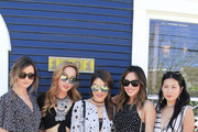 (L-R) Eleanor Calder, Dani Song, Camila Coelho, Aimee Song and Raissa Gerona attend the Austin Style Brunch hosted by REVOLVE, Who What Wear and Ciroc at Josephine House  on March 14, 2016 in Austin, Texas.