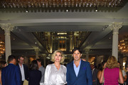 Polo Player Nacho Figueras and Delfina Blaquier attend as RH, Restoration Hardware celebrates the unveiling of RH New York at Restoration Hardware on September 5, 2018 in New York City.