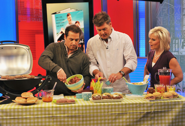 Cookbook authors brothers Jamie and Bobby Deen visit FOX