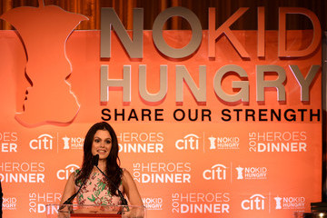 Rachel Bilson No Kid Hungry Benefit Dinner - Inside