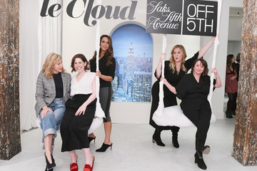 Rachel Dratch Amy Schumer & Leesa Evans Host Le Cloud Launch Event With Saks OFF 5TH
