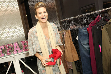 Rachel Mccord JustFab And ShoeDazzle Get Glam For The Holidays Event