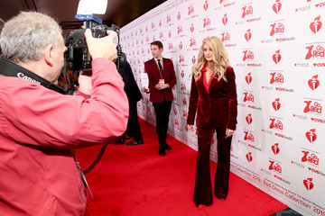 Rachel Mccord The American Heart Association's Go Red For Women Red Dress Collection 2019 - Backstage