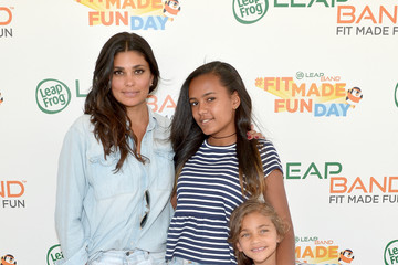 Rachel Roy Ava Dash Mia Hamm And LeapFrog Attempt To Become GUINNESS WORLD RECORDS Record Holders In Celebration Of The launch Of The New LeapBand Activity Tracker For Kids At The First-Ever Fit Made Fun Day