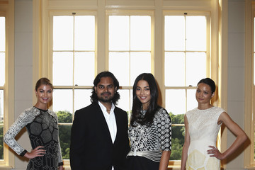 Rachel Rutt Rahul Mishra Launches His Collection