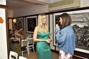 Whitney Tingle and Candice Miller  attend the Rachel Zoe Collection Summer Dinner At Moby's East Hampton With FIJI Water, Tanqueray, And AUrateat Moby's on August 01, 2019 in East Hampton, New York.
