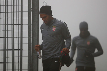 Radamel Falcao Monaco Training Session and Press Conference