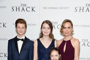 Radha Mitchell Lionsgate Hosts the World Premiere of 'The Shack' - Arrivals