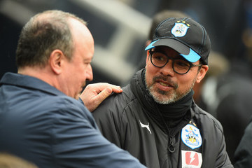 Rafa Benitez Newcastle United vs. Huddersfield Town - Premier League
