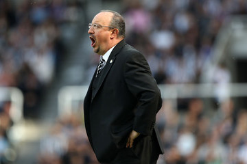 Rafael Benitez Newcastle United vs. Chelsea - Premier League