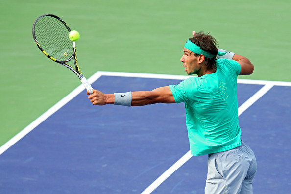 Rafael Nadal - 2013 BNP Paribas Open - Day 12