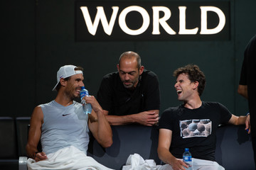 Rafael Nadal Dominic Thiem Laver Cup 2019 - Preview Day 2