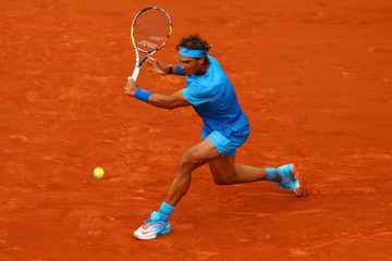 Rafael Nadal 2015 French Open - Day Five