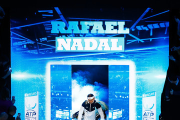 Rafael Nadal Barclays ATP World Tour Finals - Day Six