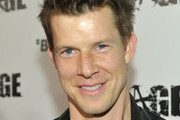 Actor Eric Mabius arrives at RAGE Official Launch Party at Chinatown?s Historical Central Plaza on September 30, 2011 in Los Angeles, California.