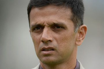 Rahul Dravid England v India: 2nd Investec Test - Day Four