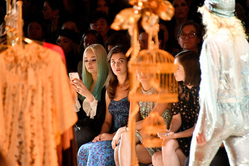 Rainsford Anna Sui - Front Row - September 2018 - New York Fashion Week: The Shows