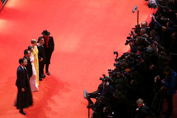 Rajendra Roy Justin Chang Closing Ceremony - Red Carpet Arrivals - 69th Berlinale International Film Festival