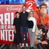 Hamish Blake,  Zoe Foster Blake and Kylie Watson-Wheeler, Senior Vice President and Managing Director for The Walt Disney Company Australia and New Zealand attend the Ralph Breaks The Internet Australian Premiere at Hoyts Melbourne Central on December 4, 2018 in Melbourne, Australia.