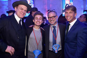 """(L-R) Actors John C. Reilly and Sean Giambrone, Director Rich Moore, and actor Jack McBrayer attend the World Premiere of Disney's """"RALPH BREAKS THE INTERNET"""" at the El Capitan Theatre on November 5, 2018 in Hollywood, California."""