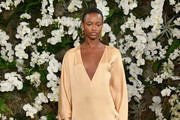 Tami Williams walks the runway for Ralph Lauren collection during New York Fashion Week on February 15, 2017 in New York City.