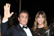 """Sylvester Stallone and Jennifer Flavin attend the screening of """"Rambo - First Blood"""" during the 72nd annual Cannes Film Festival on May 24, 2019 in Cannes, France."""