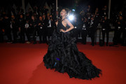 """Patricia Contreras attends the screening of """"Rambo - First Blood"""" during the 72nd annual Cannes Film Festival on May 24, 2019 in Cannes, France."""