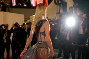 """Meredith Mickelson attends the screening of """"Rambo - Last Blood"""" during the 72nd annual Cannes Film Festival on May 24, 2019 in Cannes, France."""