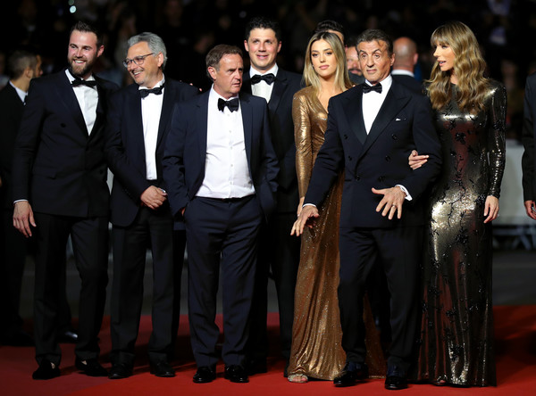 'Rambo - Last Blood' Red Carpet - The 72nd Annual Cannes Film Festival