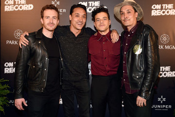 Rami Malek 'Bohemian Rhapsody' Cast Members Attend Queen + Adam Lambert Post-Show VIP Reception At Juniper Cocktail Lounge Presented By On The Record At Park MGM