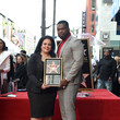 Rana Ghadban 50 Cent Walk Of Fame Ceremony
