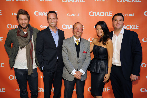 Arrivals at the Crackle NewFronts