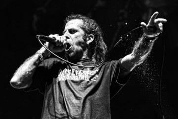 Randy Blythe Lamb of God in Concert at MGM Resorts Village in Las Vegas