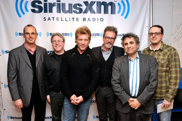 "Randy Dry ""SiriusXM's Town Hall With Jon Bon Jovi"" And Moderator Savannah Guthrie At The SiriusXM Studios"