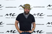 Randy Houser visits Music Choice at Music Choice on August 15, 2019 in New York City.