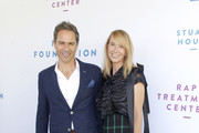 (L-R) Eric McCormack and Janet Holden attend the Rape Foundation Annual Brunch 2019 at Greenacres, The Private Estate of Ron Burkle on October 06, 2019 in Beverly Hills, California.