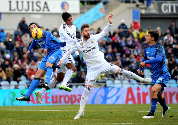 Real Madrid Vs Getafe Cf: Raphael Varane Photos Photos