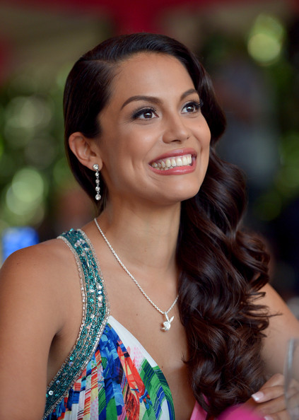 Raquel Pomplun Honored As Playmate Of The Year