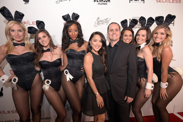 Raquel Pomplun Playboy and Gramercy Pictures' Self/less Party During Comic-Con Weekend at Parq Restaurant & Nightclub - Arrivals